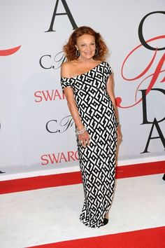 Ontwerpster Diane Von Fürstenberg. Photo News