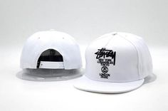 Men's Stussy World Tour New York Los Angeles Tokyo London Paris Snapback Hat…