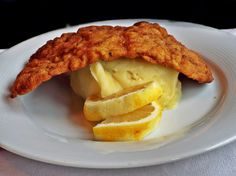 Snitel cu cartofi piure Risotto, Knits, Breakfast, Ethnic Recipes, Food, Breakfast Cafe, Essen, Knit Stitches, Knitwear