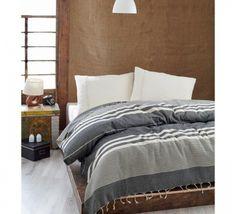 Cuvertura Pique Natural - Negru Comforters, Blanket, Bed, Furniture, Design, Home Decor, Women, Natural, Kid Outfits