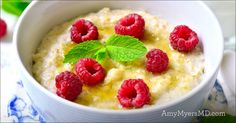 Ginger Meyer Lemon Baked Porridge - Amy Myers MD