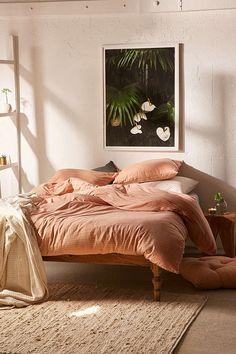Urban Outfitters Corey Yarn-Dye Stripe Jersey Comforter