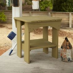 Uwharrie Original Side Table Finish: Sunshine Yellow Wash
