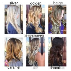 Image result for different types of balayage