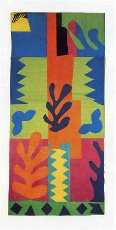 no identificada - Henri Matisse. Expresionismo Abstracto