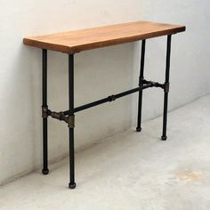 The Furniture Pipeline Corvallis Industrial Console Table is the perfect spot to store decorative items and framed photos. Furniture, Farm House Living Room, Industrial Furniture, Refinishing Furniture, Home Decor, Vintage Industrial, Sofa Table, Vintage Industrial Furniture, Industrial Console Tables