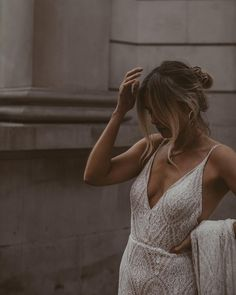 Joey is soft and feminine. Flowing effortlessly with her signature bow at the back that goes for days. Savannah Miller, Marie, White Dress, Neckline, Feminine, Love, Bridal, Shopping, Disappointment