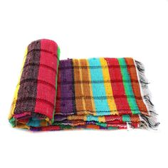 Handloomed Rag Rug Yoga Mat Handmade Saree Chindi Carpet Rectangular Durrie Y808 #JodhpurRugs #RagRug