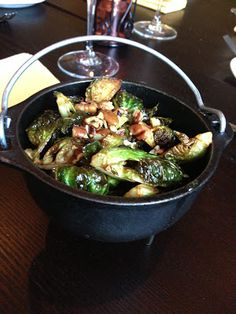 Will Work for Food: Fried Brussels Sprouts, Brown Sugar Butter-Pecan - Chef Ryan Shelton