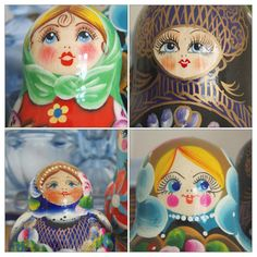 Russian Doll faces
