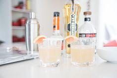 Mama Needs A Drink: Elderflower Grapefruit Margarita