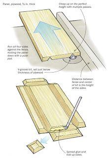 Ah! E se falando em madeira...: bandejas e caixas faceis, projeto no blog