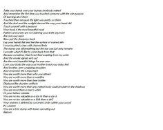MARY LAMBERT - I KNOW GIRLS (BODY LOVE) LYRICS