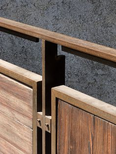 Castelvecchio. Hand rail Detail. Carlo Scarpa
