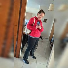 Hello!! Happy Sunday everyone!!  . #fun #instalove #me #selfietime #instaselfie #instagood #portrait #pretty #life #instaphoto #love # Red Leather, Leather Jacket, Happy Sunday Everyone, Selfie Time, Portrait, Pretty, Photos, Jackets, Fashion