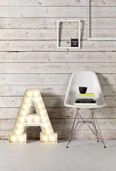white, A letter, light letter, neons, neon art, light, design, light letters, home, interior
