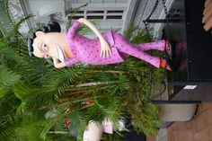 Some cartoon statues in Kowloon park