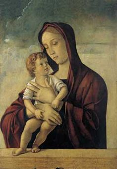 Christmas 1940: Sartre, interned in a German prison camp, composed a story to be recited in a hut. A philosophy without paternity... rejection of God, his proud autonomy, remained for him a «secret nexus» difficult to untie   30giorno   Madonna with child, detail, Giovanni Bellini, Museum of Castelvecchio, Verona