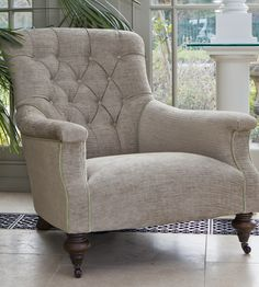 John Sankey Slipper Chair Conservatory Lighting, Conservatory Interiors, Conservatory Furniture, Wingback Chair, Armchair, Coffee And End Tables, Sofa Furniture, Slipper, Sofas