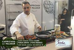 witter feria sirha1 CAPRICHOS DEL PALADAR ASISTE A LA FERIA SIRHA EN LYON FRANCIA show cooking