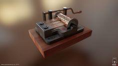 ArtStation - MusicBox - Lowpoly, Sokol Mehmeti