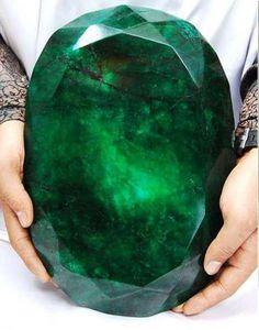 World's Largest Cut Emerald