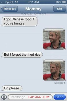 #Hilarious Text About Chinese Food vs. Hungry