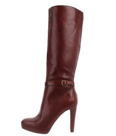 """oxblood is the """"it"""" color for fall fashion!  Jessica Simpson Khalen Knee-High Boots"""