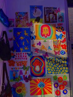 Indie Bedroom, Indie Room Decor, Cute Bedroom Decor, Aesthetic Room Decor, Room Ideas Bedroom, 90s Aesthetic, Girls Bedroom, Chambre Indie, Indie Drawings
