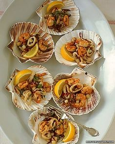 """See the """"Grilled Seafood Salad"""" in our Tapas Recipes gallery.      III"""