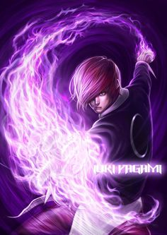 this afternoon suddenly feel like to draw some fan art, then suddenly remembered that i promised my fren to do a KOF fanart too.i decided to draw my FAV character in KOF~~~~~~ I. Mobile Legend Wallpaper, Hero Wallpaper, Art Of Fighting, Fighting Games, Geeks, Snk King Of Fighters, Alucard Mobile Legends, Dark Purple Background, Samurai
