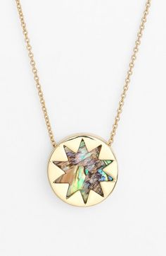 House of Harlow 1960 Sunburst Pendant Necklace available at #Nordstrom