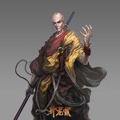 Shaolin Monk Artwork Shaolin monk m