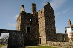 Carsluith Castle - Clan Broun / Brown.