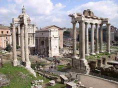 Roma_Forum_Viajando bem e barato