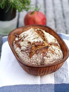 No knead bread No Knead Bread, Camembert Cheese, Pie, Desserts, Torte, Tailgate Desserts, Cake, Deserts, Fruit Flan
