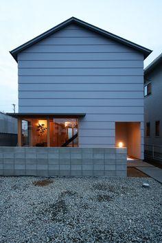 画像詳細 | KASHA - カシャ - Dream Home Design, House Design, Timber Cladding, Minimal Home, Architect House, Bathroom Layout, Facade House, Cafe Interior, Prefab