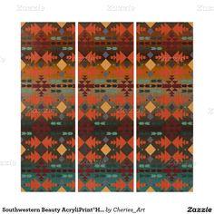 Southwestern Beauty AcryliPrint®HD Triptych Art