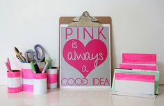 Reorganize your desk (and life) with these awesome recycled DIY ideas