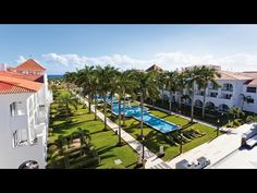 Riu Palace Mexico, Hotel in Playa del Carmen, Mexico - RIU Hotels & Resorts - YouTube. I think this is going to be the one. Better price but the rooms in the other one are nicer.