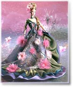 Water Lily Barbie. My favorite doll, inspired by my favorite painting.