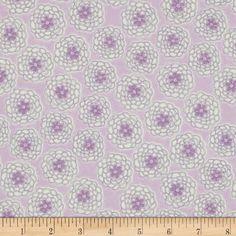 Cotton Candy Flannel Mums - Lavender