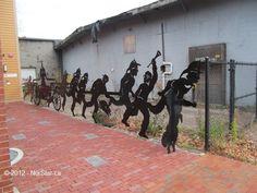 Torrent Six Sculpture -