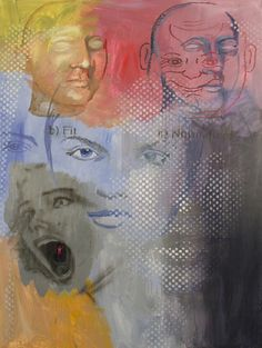 Tony Oursler, 'Janus', 2012