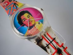 """BISEX! Colorful """"TRANSVESTITE"""" Swatch with DATE-New! #Swatch #Fashion"""
