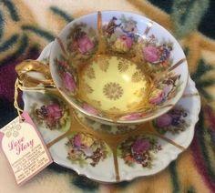 Cassidy's Fine Bone China Tea Cup & Saucer- Love Story Germany