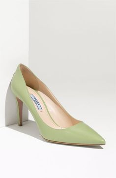 Prada Pointy Toe Pump | Nordstrom - StyleSays