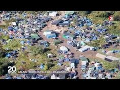 Migrants jungle de Calais plus grand bidonville d'Europe