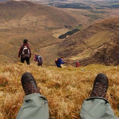 #kerry #mountain #ireland #relax #instagood #nature #beautiful Adventure Travel, Hiking Boots, Ireland, Mountain, Nature, Life, Beautiful, Instagram, Walking Boots