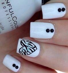 white nail art-9